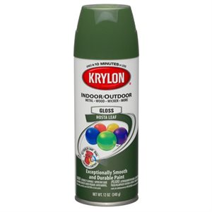 Krylon Gloss hosta leaf
