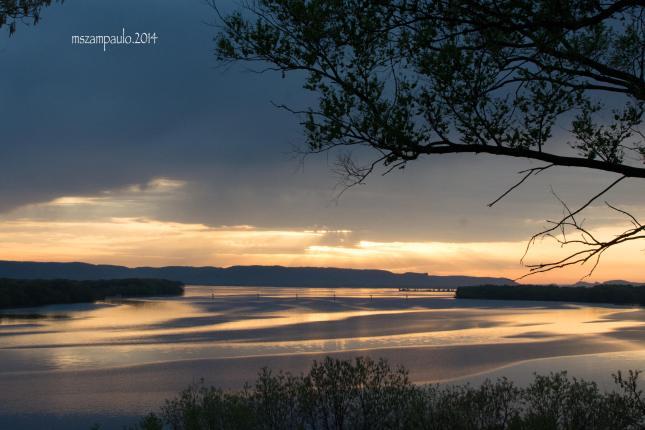 Day196_Spring sunset