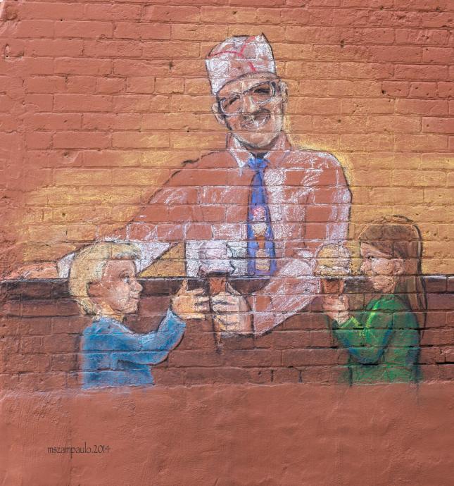 Day231_Ice cream chalk art