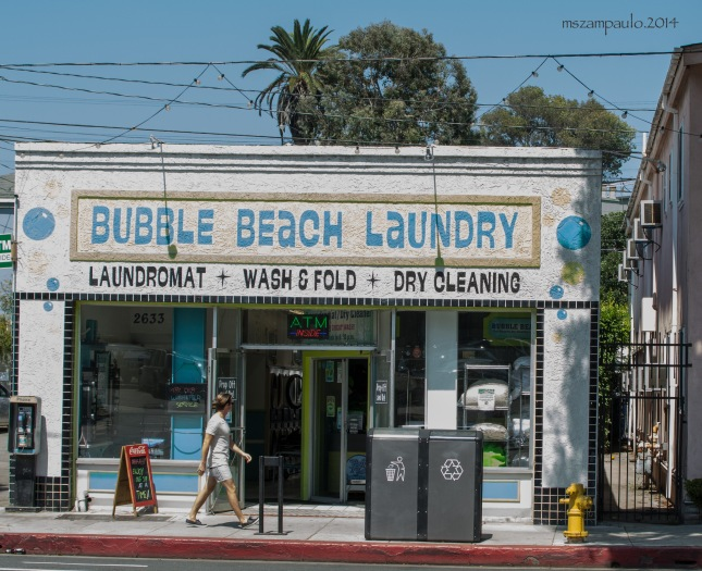 Day271_Bubble beach laundry
